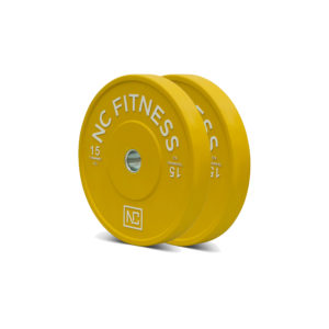 Double Bumper Plate 15KG - Yellow