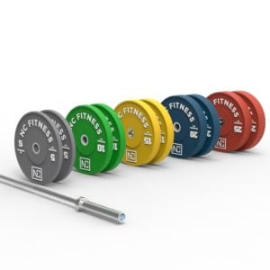 Stack-BUMPER PLATE COLORS+barbell-ISO1.632