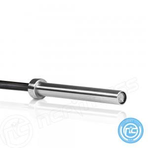 Olympic Barbell Zinc Oxide Hardened Chrome 15kg 6.5' 201cm