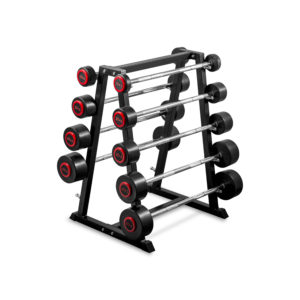 Fixed Barbell Set with Rack 10-50kg