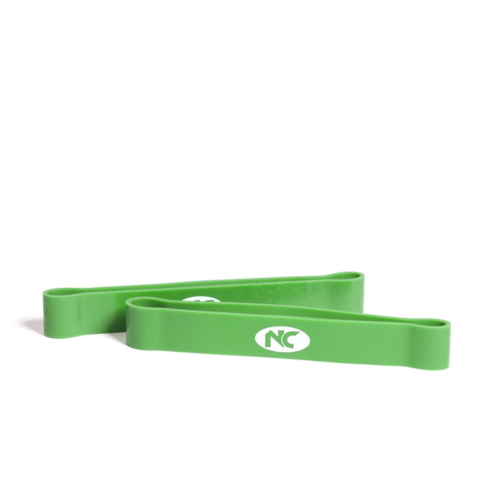 Resistance Band 12 Inch Pair Green 40mm Wide