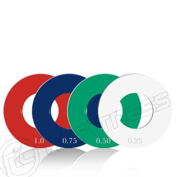 Fractional Weight Plates - 5kg Set
