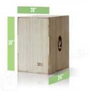 3-in-1 Wooden Plyometric Box