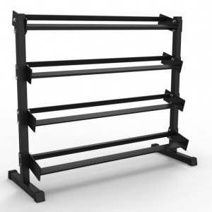 4 Tier Dumbbell Storage Rack