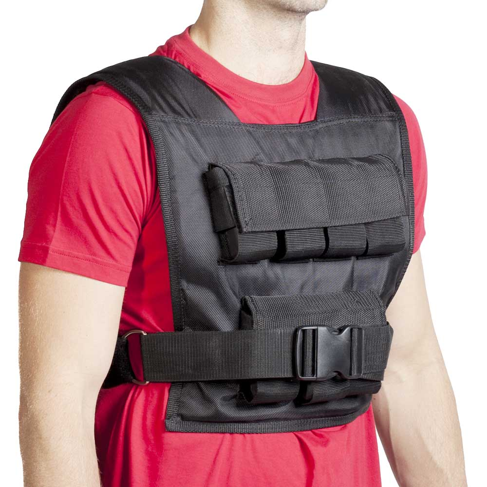 how to run with a weighted vest