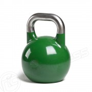 Kettlebell PRO Grade 24kg Competition style with a stainless steel handle