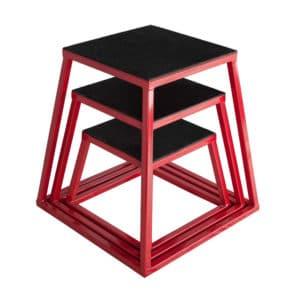 Plyometrics boxes x 3 (30, 45 & 60cm)