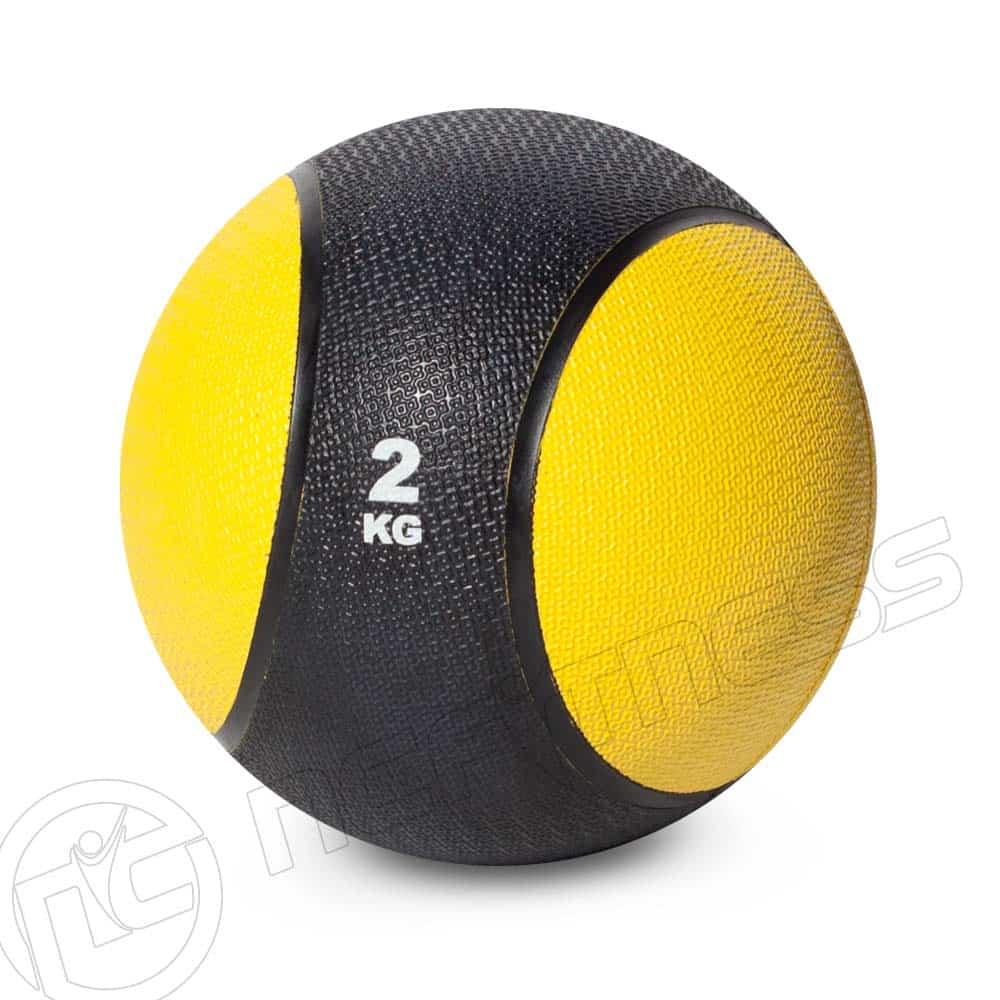 Medicine Ball 2kg Rubber