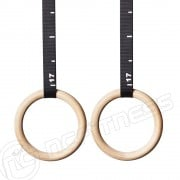 Gymnastics Rings - Timber - Premium